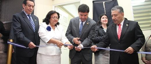 Inauguran Sala de Audiencias para atención a personas con capacidades especiales