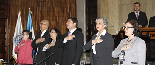 Eligen representante suplente de jueces ante el Consejo de la Carrera Judicial
