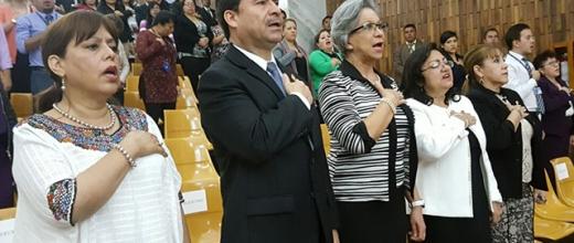 Organismo Judicial celebra fiestas patrias con tarde cultural
